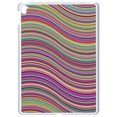 Wave Abstract Happy Background Apple iPad Pro 9.7   White Seamless Case