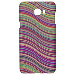 Wave Abstract Happy Background Samsung C9 Pro Hardshell Case