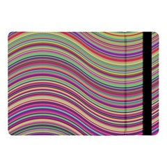 Wave Abstract Happy Background Apple iPad Pro 10.5   Flip Case