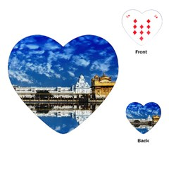 India Punjab Amritsar Sikh Playing Cards (heart)  by BangZart