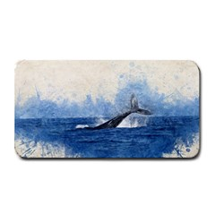Whale Watercolor Sea Medium Bar Mats