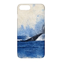 Whale Watercolor Sea Apple Iphone 8 Plus Hardshell Case