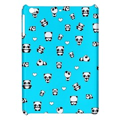 Panda Pattern Apple Ipad Mini Hardshell Case by Valentinaart