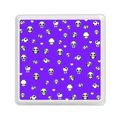 Panda Pattern Memory Card Reader (square)  by Valentinaart