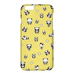 Panda Pattern Apple Iphone 6 Plus/6s Plus Hardshell Case by Valentinaart
