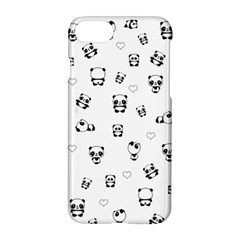 Panda Pattern Apple Iphone 7 Hardshell Case by Valentinaart