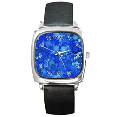 Fun,fantasy And Joy 4 Square Metal Watch by MoreColorsinLife
