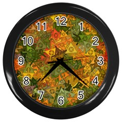 Fun,fantasy And Joy 3 Wall Clocks (black) by MoreColorsinLife