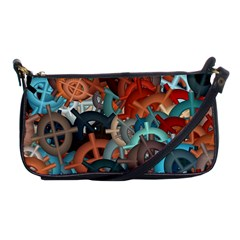 Fun,fantasy And Joy 2 Shoulder Clutch Bags by MoreColorsinLife