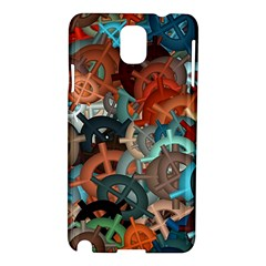 Fun,fantasy And Joy 2 Samsung Galaxy Note 3 N9005 Hardshell Case by MoreColorsinLife