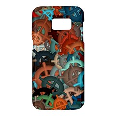 Fun,fantasy And Joy 2 Samsung Galaxy S7 Hardshell Case  by MoreColorsinLife