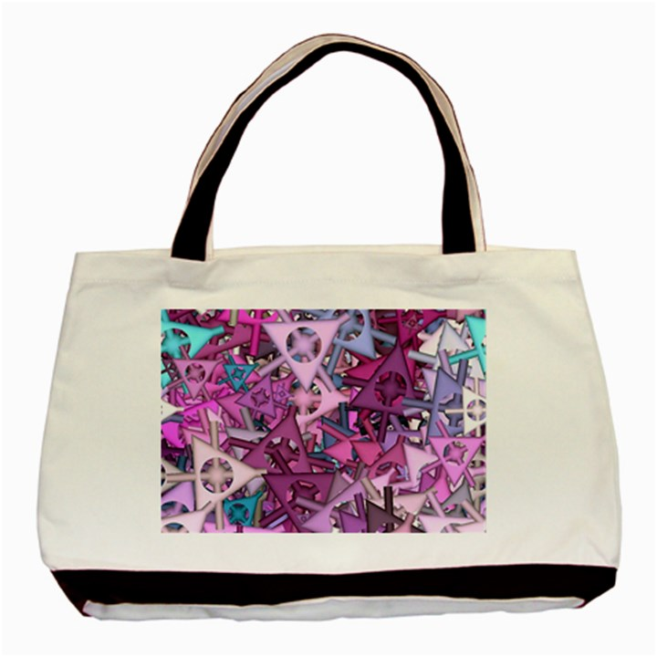 Fun,fantasy And Joy 7 Basic Tote Bag