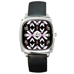 Japan Is A Beautiful Place In Calm Style Square Metal Watch by pepitasart