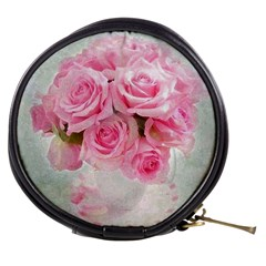 Pink Roses Mini Makeup Bags by 8fugoso