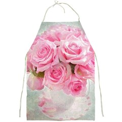Pink Roses Full Print Aprons by 8fugoso