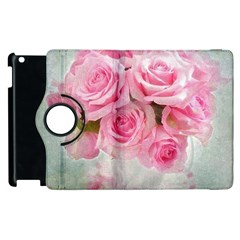 Pink Roses Apple Ipad 2 Flip 360 Case by 8fugoso