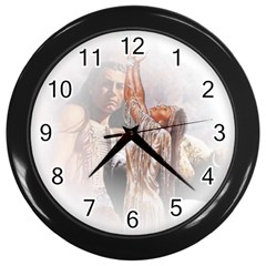Native American Forever Love Wall Clocks (black) by allthingseveryday