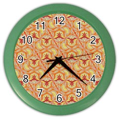 Universe Pattern Color Wall Clocks by Cveti