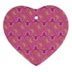 Universe 1 Pattern Ornament (Heart) Front