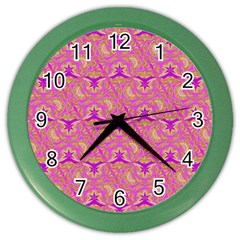Universe 1 Pattern Color Wall Clocks by Cveti