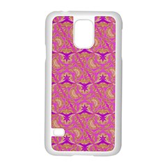 Universe 1 Pattern Samsung Galaxy S5 Case (white) by Cveti
