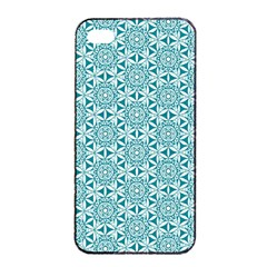 Mandala Hand Drawing Pattern  Apple Iphone 4/4s Seamless Case (black) by Cveti