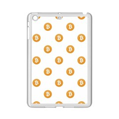 Bitcoin Logo Pattern Ipad Mini 2 Enamel Coated Cases by dflcprints