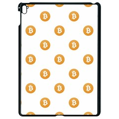 Bitcoin Logo Pattern Apple Ipad Pro 9 7   Black Seamless Case by dflcprints
