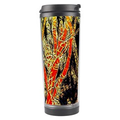 Artistic Effect Fractal Forest Background Travel Tumbler by Amaryn4rt