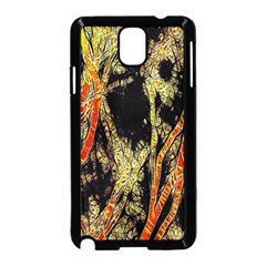 Artistic Effect Fractal Forest Background Samsung Galaxy Note 3 Neo Hardshell Case (black)