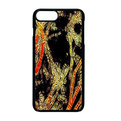 Artistic Effect Fractal Forest Background Apple Iphone 8 Plus Seamless Case (black) by Amaryn4rt