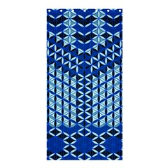 Flower Of Life Pattern Blue Shower Curtain 36  X 72  (stall)  by Cveti
