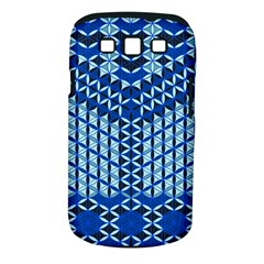 Flower Of Life Pattern Blue Samsung Galaxy S Iii Classic Hardshell Case (pc+silicone) by Cveti