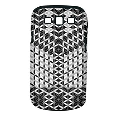 Flower Of Life Grey Samsung Galaxy S Iii Classic Hardshell Case (pc+silicone) by Cveti