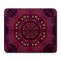 Leather And Love In A Safe Environment Large Mousepads by pepitasart