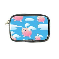 Flying Piggys Pattern Coin Purse by allthingseveryday