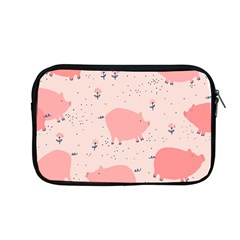 Pigs And Flowers Apple Macbook Pro 13  Zipper Case by allthingseveryday