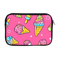 Summer Ice Creams Flavors Pattern Apple Macbook Pro 17  Zipper Case by allthingseveryday