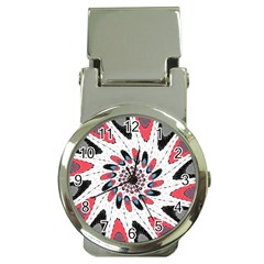 High Contrast Twirl Money Clip Watches by linceazul