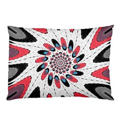 High Contrast Twirl Pillow Case by linceazul