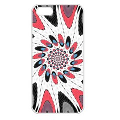 High Contrast Twirl Apple Iphone 5 Seamless Case (white) by linceazul