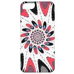High Contrast Twirl Apple Iphone 5 Classic Hardshell Case by linceazul