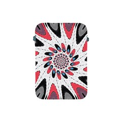 High Contrast Twirl Apple Ipad Mini Protective Soft Cases by linceazul