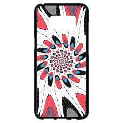 High Contrast Twirl Samsung Galaxy S8 Black Seamless Case by linceazul