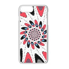 High Contrast Twirl Apple Iphone 8 Plus Seamless Case (white) by linceazul