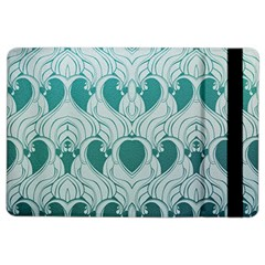 Teal Art Nouvea Ipad Air 2 Flip by 8fugoso