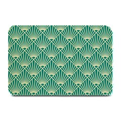 Green Fan  Plate Mats by 8fugoso
