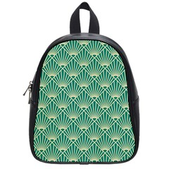 Green Fan  School Bag (small) by 8fugoso