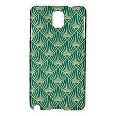 Green Fan  Samsung Galaxy Note 3 N9005 Hardshell Case by 8fugoso