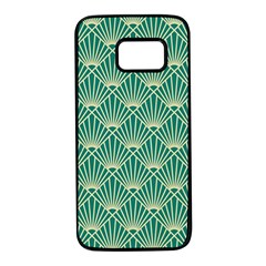 Green Fan  Samsung Galaxy S7 Black Seamless Case by 8fugoso